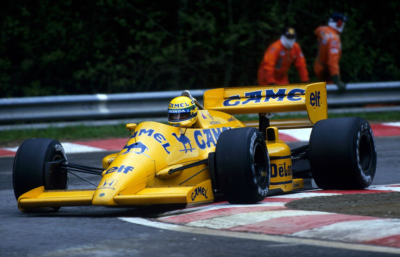 F1 History 1987 Lotus 99t Ayrton Senna And The Advent